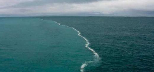 LOCUL IN CARE DOUA OCEANE SE INTALNESC SI NU SE AMESTECA! VIDEO FASCINANT!