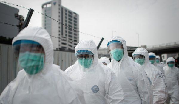 HONG KONG-CHINA-HEALTH-FLU-VIRUS