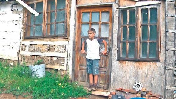 Un-copil-sărac...
