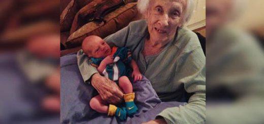 mama la 101 ani
