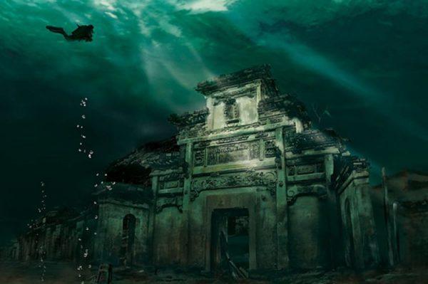 oras sub marea neagra
