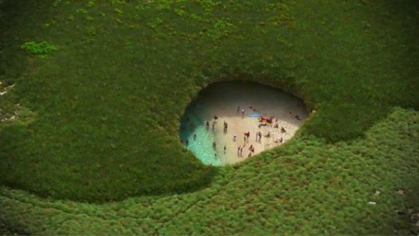 Plaja ascunsă – cel mai ciudat loc din lume. Teritoriul este protejat prin lege
