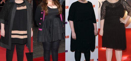 Adele-evolutie silueta