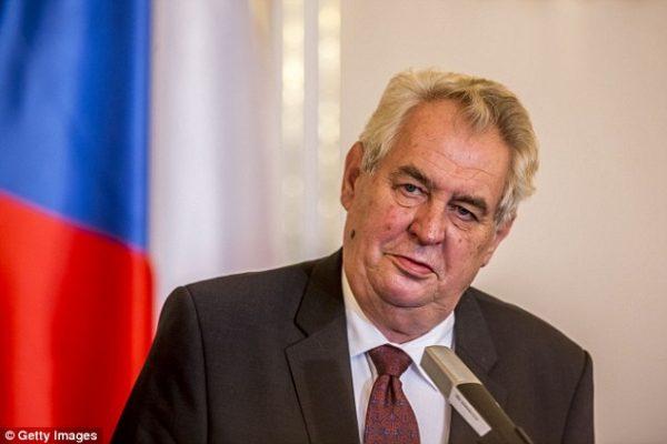 presedintele cehiei