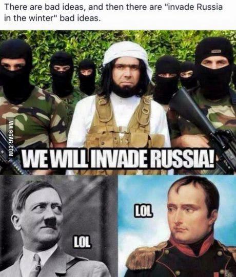 invayie rusia