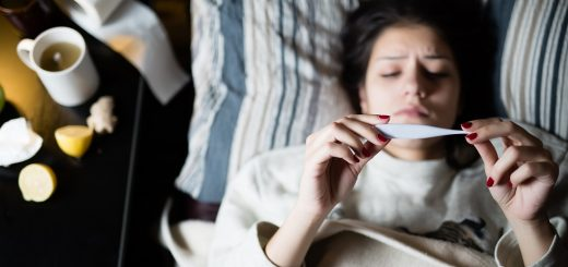 femeie-cu-viroza-respiratorie