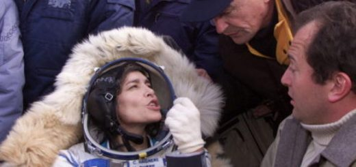Soyuz Spacecraft Lands Safely In Kazakstan