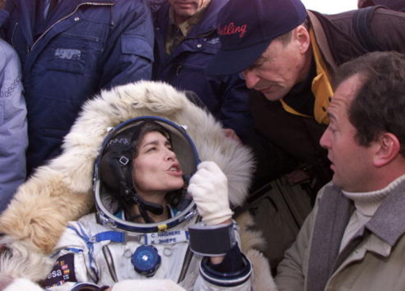 Soyuz Spacecraft Lands Safely In Kazakstan