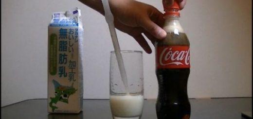 experiment-video-ce-se-intampla-daca-amesteci-cola-cu-lapte